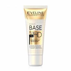 База під макіяж Eveline Cosmetics Base Full HD 3в1 вирівнює тон, матує, висвітлює 30 мл