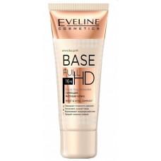 База під макіяж Eveline Cosmetics Base Full HD 4в1 вирівнює тон, матує, висвітлює, сяє 30 мл