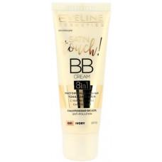 Багатофункціональний тональний ВВ крем Eveline Cosmetics 8in1 Satin Touch SPF10 № 01 30 мл