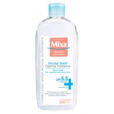 Міцелярна вода Mixa Hydrating для нормальної та сухої чутливої шкіри обличчя 400 мл