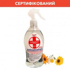 Антибактеріальний спрей для рук Domik Expert спрей 500 мл