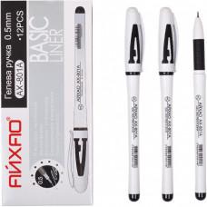Ручка гелева 801A АЙХАО Original чорна