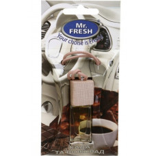 Ароматизатор в авто Mr.Fresh Кава, Шоколад 5 мл