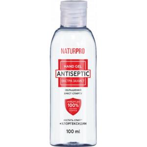 Антисептичний гель для рук NaturPro Екстра захист 100 мл