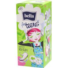 Щоденні гігієнічні прокладки Bella Panty for Teens Relax 58 шт