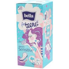 Щоденні гігієнічні прокладки Bella Panty for Teens Sensitive 58 шт