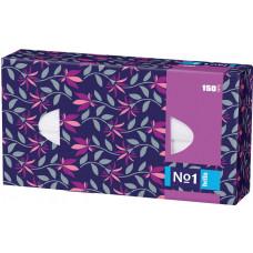 Хустинки паперові Bella універсальні двошарові 150 шт
