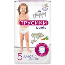 Підгузки-трусики дитячі Bella Baby Happy розмір 5 Junior 11-18 кг 10 шт