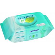 Вологі серветки Invista антибактеріальні біорозкладні 100 шт