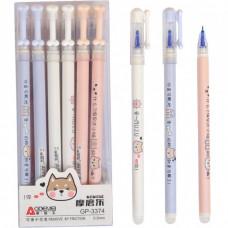 Ручка Пиши-стирай GP-3374 синя