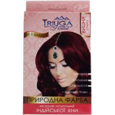 Натуральна фарба для волосся на основі хни Triuga Herbal Вишня 25 г
