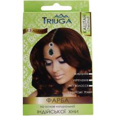 Натуральна фарба для волосся на основі хни Triuga Herbal Каштан 25 г