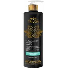 Кондиціонер-маска для схильного до жирності волосся Triuga Ayurveda Professional Home Care Свіжість і обєм 500 мл