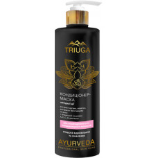 Кондиціонер-маска для пошкодженого та фарбованого волосся Triuga Ayurveda Professional Home Care Глибоке відновлення і живлення 500 мл