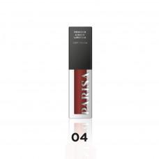 Рідка помада для губ Parisa Cosmetics Powder Liquid Lipstick Soft Touch LG-112 № 04 4,5 мл
