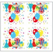Серветки столові Luxy тришарові 33х33 см Яскравий день народження 20 шт