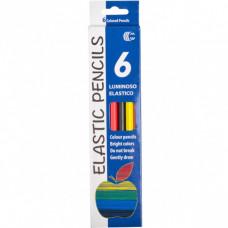 Олівці кольорові CR755-6 Luminoso elastico С  6 кольорів