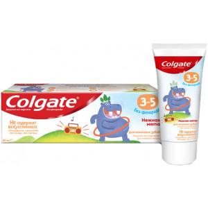 Дитяча зубна паста Colgate без фтору Ніжна м'ята від 3 до 5 років 60 мл