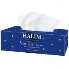 Серветки в коробці HALIM 2 шари 200 шт