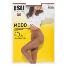 Колготки жіночі  Esli Modo 40 Den Visone 4