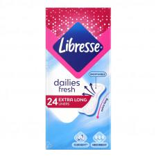 Прокладки щоденні Dailies Fresh Extra Long Libresse 24штт