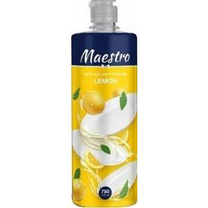 Засіб для миття посуду Maestro Lemon 750 мл