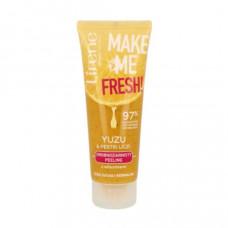 Пілінг для обличчя Lirene Make me Fresh з Юдзу та кісточками лічі 75 мл