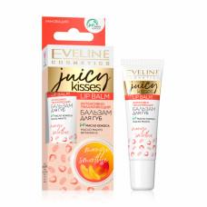 Бальзам для губ Eveline Cosmetics Juicy Kisses Exotic Mango Lip Balm Екзотичне манго 12 мл