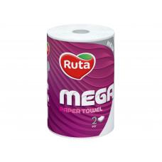 Паперовий рушник 2-х шаровий Mega Ruta 1шт