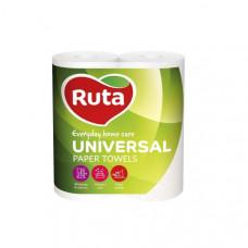 Паперові рушники Ruta Universal 2 шари 2 шт Білі