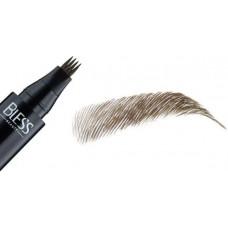 Маркер для брів Bless Beauty Wow Tattoo Brow Pen  № 01 темно-коричневий