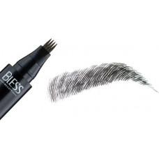 Маркер для брів Bless Beauty Wow Tattoo Brow Pen  № 04 чорний