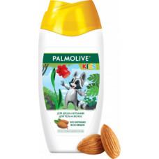 Дитячий гель для душу та купання Palmolive для тіла та волосся з мигдалем 250 мл