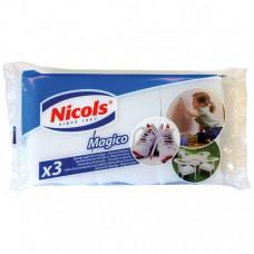 Губки Nicols Magico меламин 3 шт