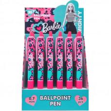 Ручка кулькова масляна YES 411972 Barbie автоматична  0.7 мм