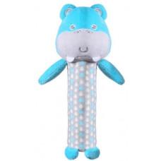 Іграшка з пищалкою Бегемотик Марсель (висота: 18см) BabyOno