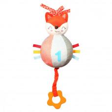Іграшка музична Лисичка Вінсент  (26х23 см.) BabyOno