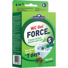 Гелеві диски для унітазів WC Gel Force General Fresh Ліс 36 мл