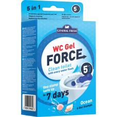 Гелеві диски для унітазів WC Gel Force General Fresh Океан 36 мл