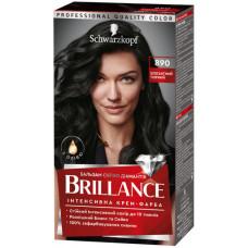 Інтенсивна крем-фарба для волосся Brillance 890 Елегантний чорний 142.5 мл