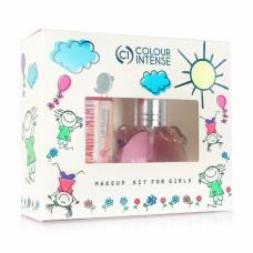 Набір Colour Intense Makeup Kids For Girls (туалетна вода, 15 мл + блиск для губ, 10.5 мл)