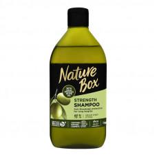 Шампунь для волосся Olive oil Strength Nature Box 385 мл