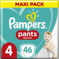 Підгузки-трусики Pampers Pants розмір 4 9-15 кг 46 шт