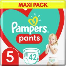 Підгузки-трусики Pampers Pants розмір 5 12-17 кг 42 шт