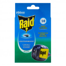 Електрофумігатор з пластинами від комарів Евкаліпт Raid