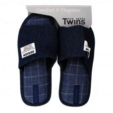 Капці домашні HS-VL Twins джинс р.42/43