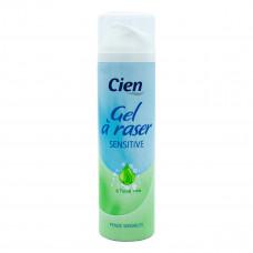 Гель для гоління Cien Gel a Raser Sensitive  200 мл