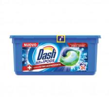 Капсули для прання DASH 3в1 Нейтралізація запаху 24 шт