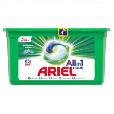 Капсули для прання  Ariel 3в1 33 шт