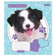 Зошит 1Вересня Keith Kimberlin. Pet portrait в клітинку 12 аркушів